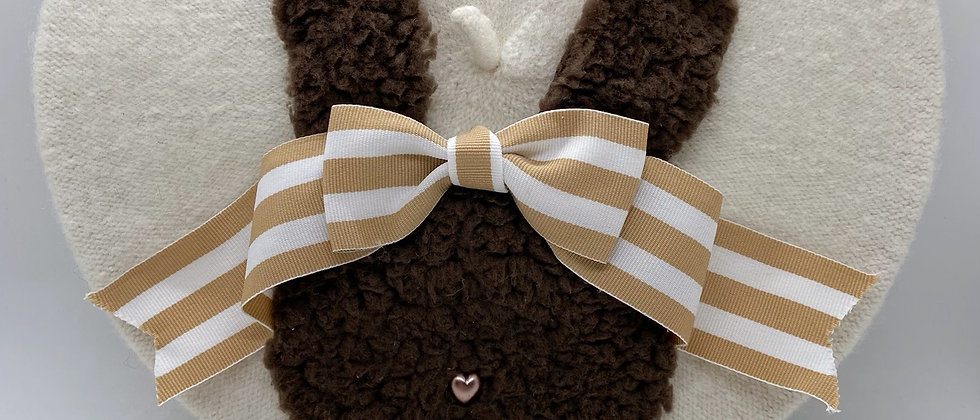 Bunny Chocolate Beret