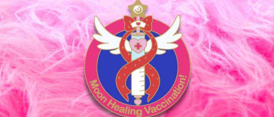 Moon Healing Vax Pin