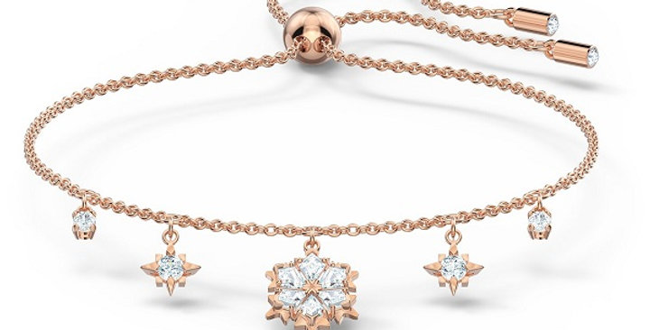 Swarovski armband Magic, Rose-gold tone plated
