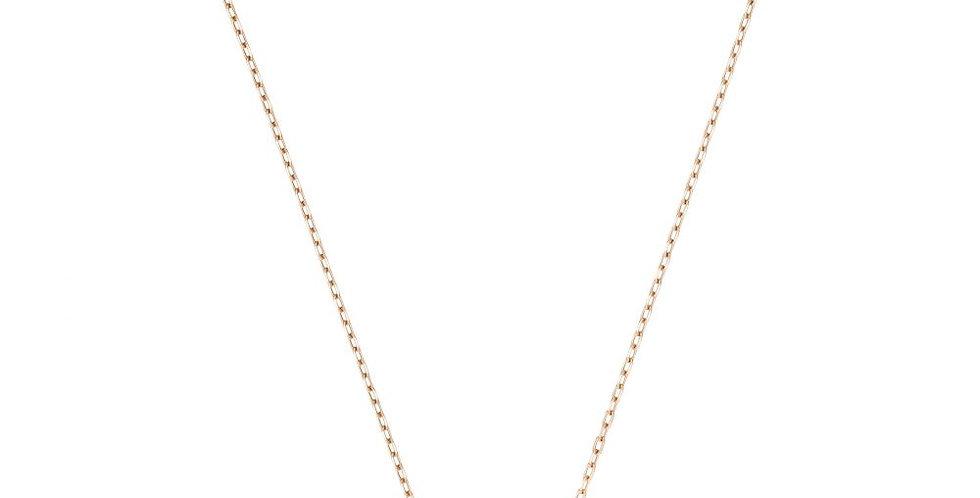 Swarovski smykke Dazzling Swan Necklace, Multi-colored, Rose-gold tone plated