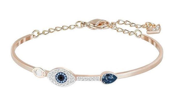 Swarovski armbånd Symbolic bangle Evil eye, Blue, Mixed metal finish
