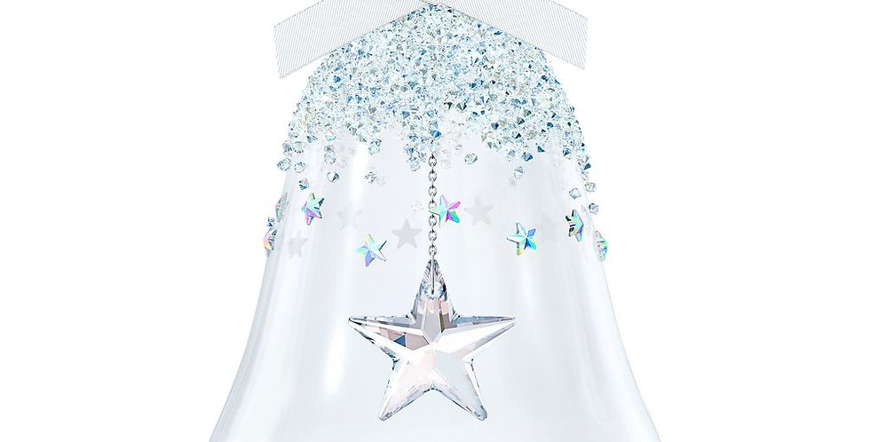 Swarovski figurer Bell Ornament, Star, large