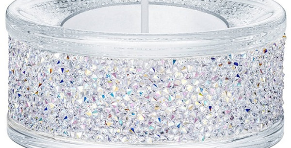 Swarovski Shimmer Tea Light Holders, Crystal AB