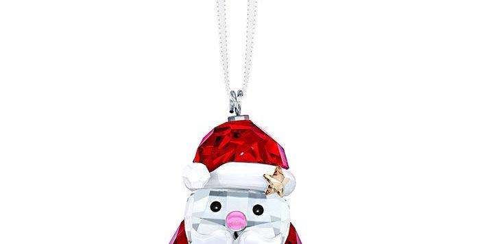 Swarovski figurer Rocking Santa Claus Ornament