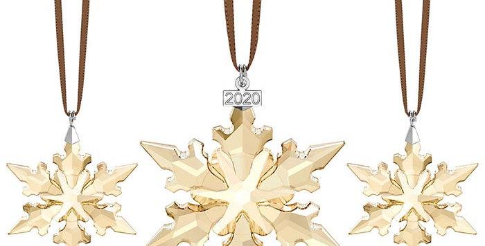 Swarovski figurer Festive Ornament Set 2020