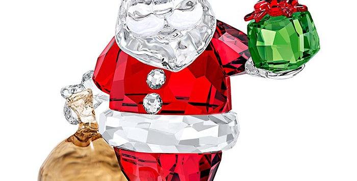 Swarovski Santa Claus with Gift Bag