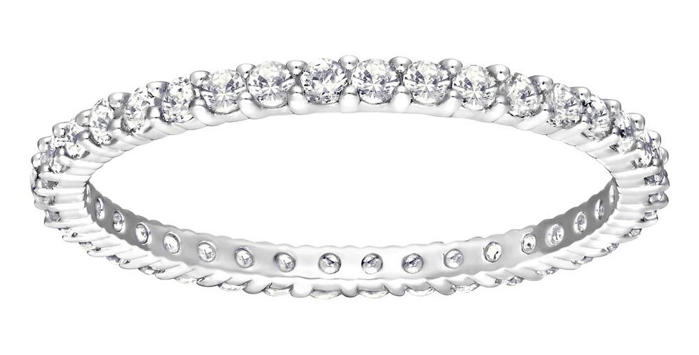 Swarovski ring Vittore, hvitt