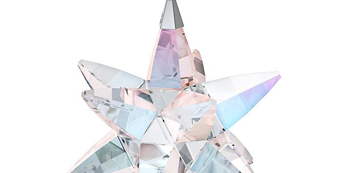 Swarovski figurer Star Ornament, Shimmer, medium
