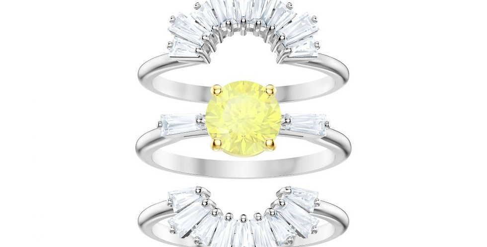 Swarovski ring Sunshine Set