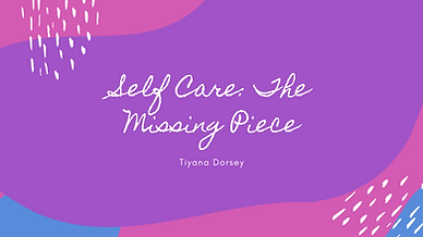 Caring for myself is not self indulgence