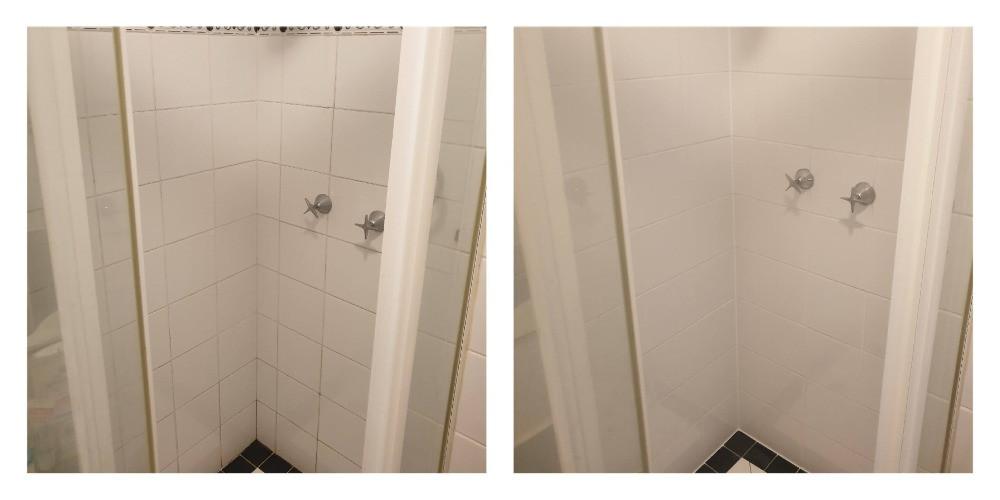 Impermeabilização de banheiro com renovação de rejunte sem remover azulejos