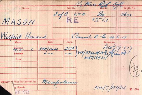 Mason, Wilfrid Medals.jpg