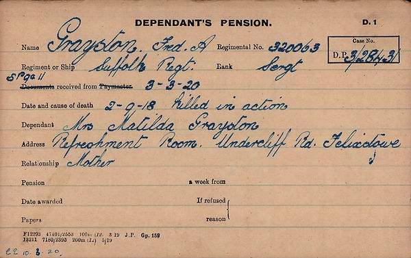 Grayston, Fred A (320063) Pension.jpg