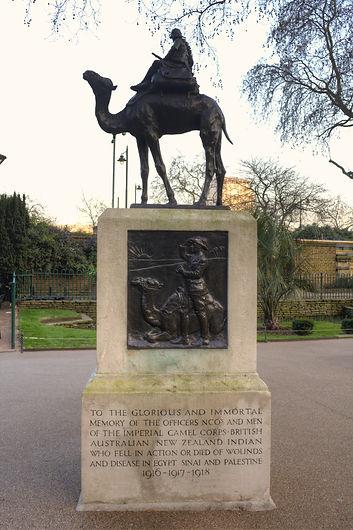 Camel_Corps_Memorial,_Victoria_Embankmen