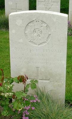 Minns, Sidney Harold grave.jpg