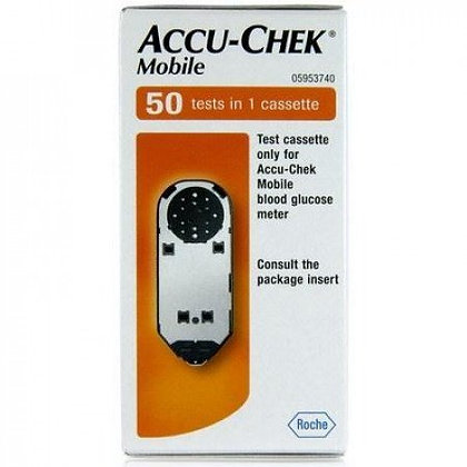 Accu-Chek Mobile Diabetes Test Strip Cassette