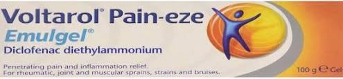 Voltarol Pain Eze Gel 1.16% 100g