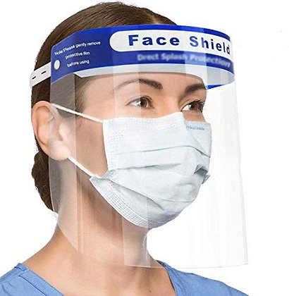 Medical Face Shield Visor x 5