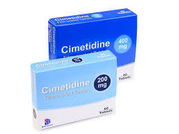 Cimetidine 400mg tablets is available in the UK