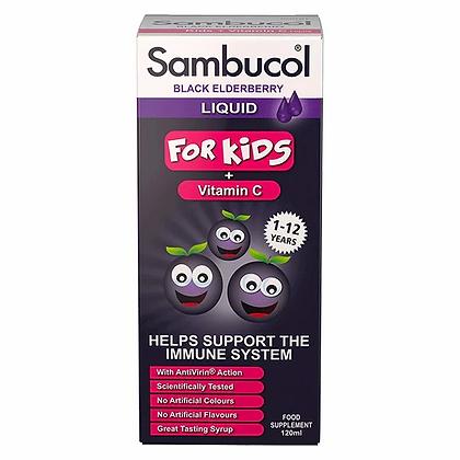 Sambucol Kids Black Elderberry - 120 ml
