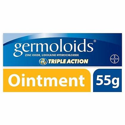 Germoloids Triple Action Haemorrhoids & Piles Ointment 55g