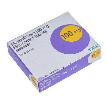 Sildenafil 100mg tab x4