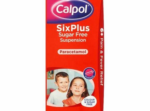 Calpol Six Plus Suspension in stock