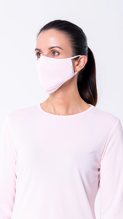 pink aviro mask
