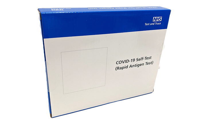 COVID Lateral Flow Self Test x 7