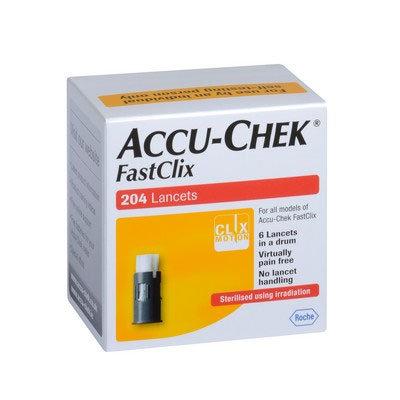 Accu-Chek FastClix Lancets - 204 Lancets