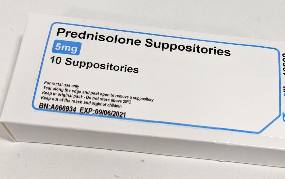 prednisolone suppository