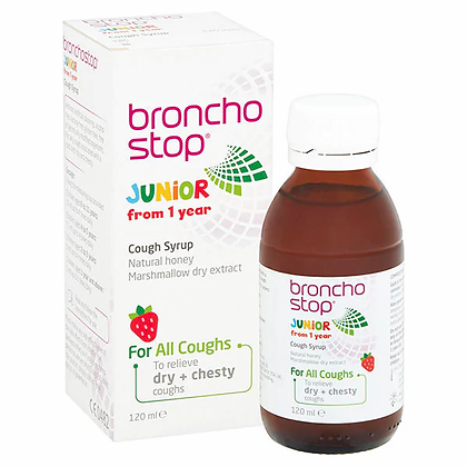 Buttercup Bronchostop Junior Cough Syrup 120ml