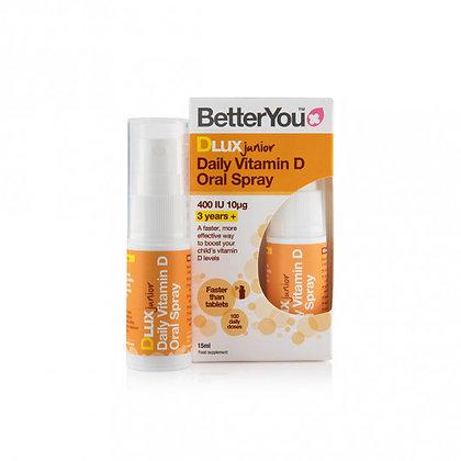BetterYou DLux Junior 400iu Vitamin D Oral Spray