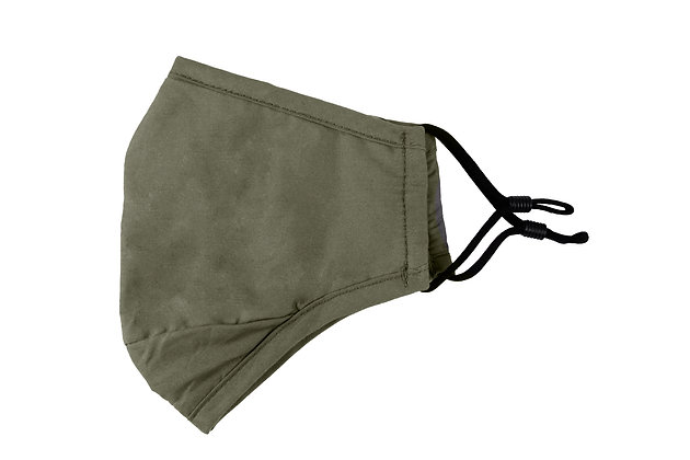 Reusable Cotton Face Mask (Olive Green)