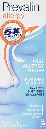 Prevalin Allergy Adult Nasal Spray - 20 ml, 140 Doses