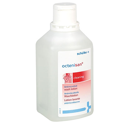 Octenisan antimicrobial wash lotion 500ml