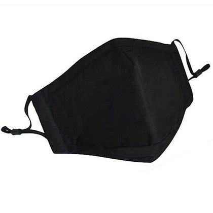 Reusable Cloth Face Mask (Black)