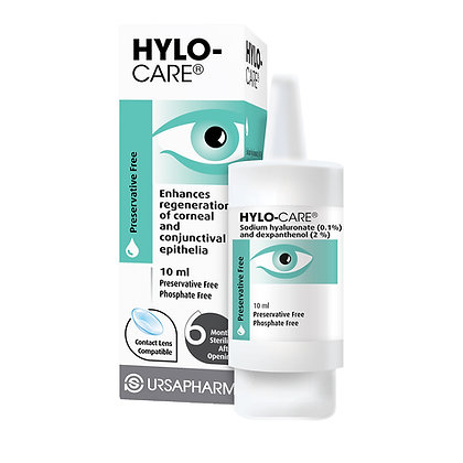 Hylo-Care Pres-Free Eye Drops 10ml
