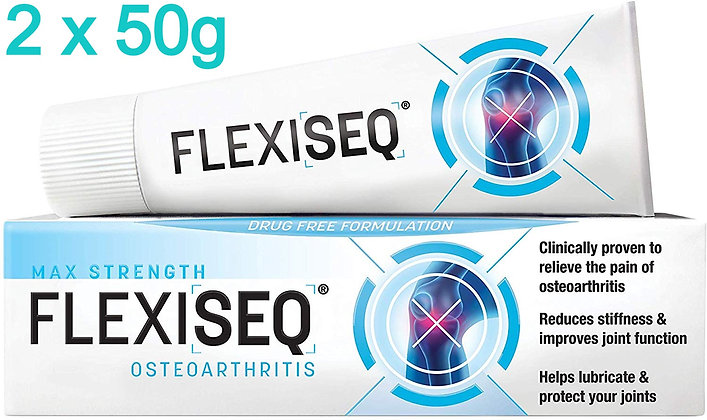Flexiseq Osteoarthritis Gel (Max Strength) 50g  x2
