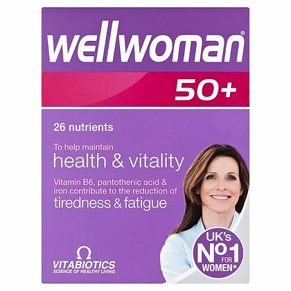 Vitabiotics Wellwoman 50+ Tablets 30s