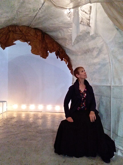 Paula in The Passageway