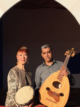 With Mounaim Baino