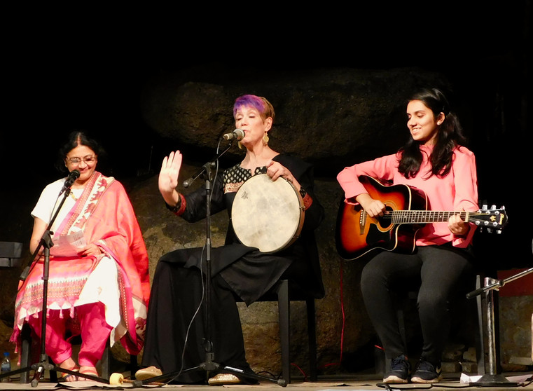 In concert at Lamakaan
