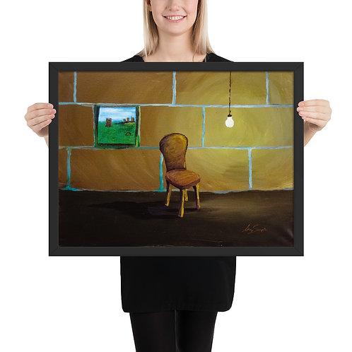 Chair- Framed Poster