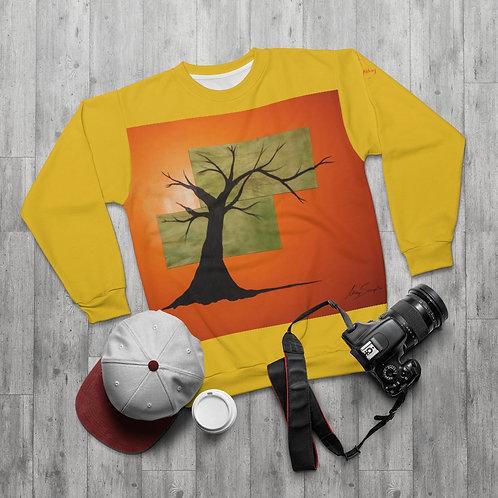 Tree- AllOverPrint Sweatshirt