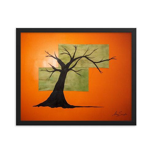 Tree- Framed Poster