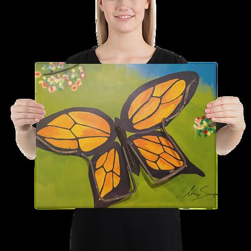 Butterfly- Premium Canvas