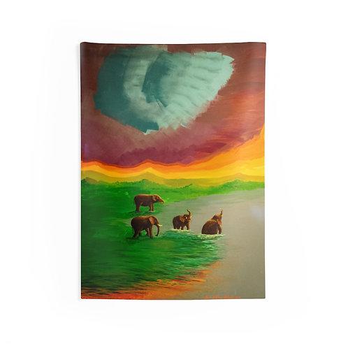 Elephant- Tapestry