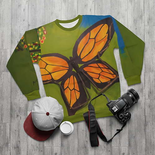 Butterfly- AllOverPrint Sweatshirt