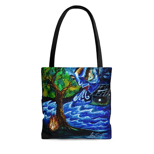 Exhale- Tote Bag